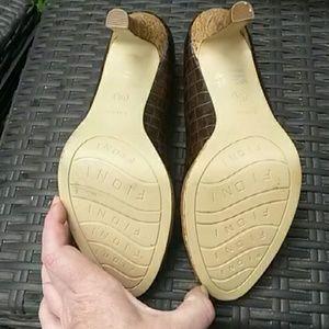 FIONI Clothing Shoes - Peeptoe pumps